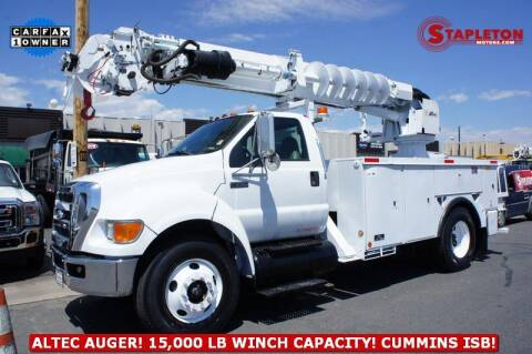 2008 Ford F-750 Super Duty for sale at STAPLETON MOTORS in Commerce City CO