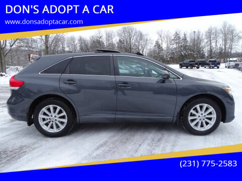 2011 Toyota Venza for sale at DON'S ADOPT A CAR in Cadillac MI