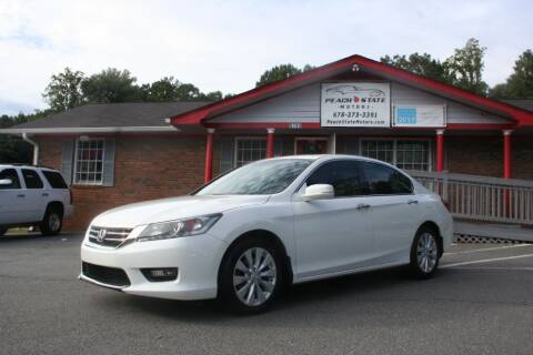 2014 Honda Accord for sale at Peach State Motors Inc in Acworth GA