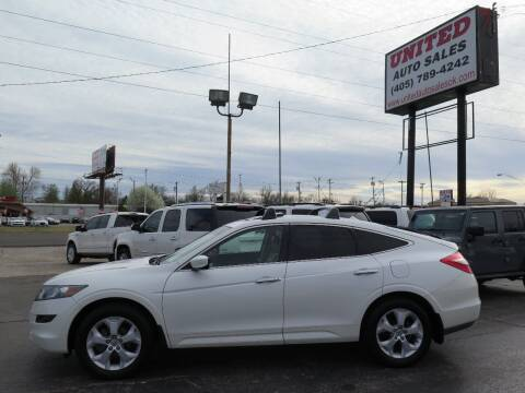 2010 Honda Accord Crosstour for sale at United Auto Sales in Oklahoma City OK