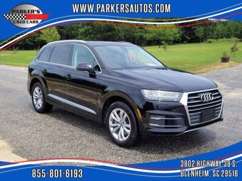 2019 Audi Q7 for sale at Parker's Used Cars in Blenheim SC