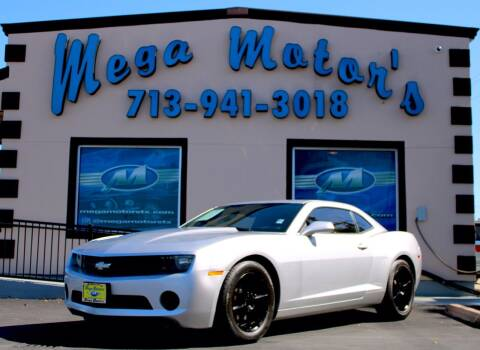 2013 Chevrolet Camaro for sale at MEGA MOTORS in South Houston TX