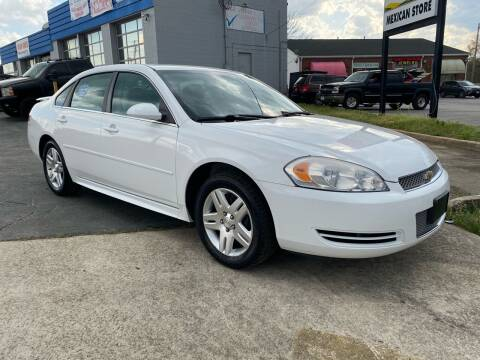 2012 Chevrolet Impala for sale at Brian Jones Motorsports Inc in Danville VA