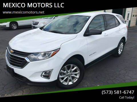2018 Chevrolet Equinox for sale at MEXICO MOTORS LLC in Mexico MO