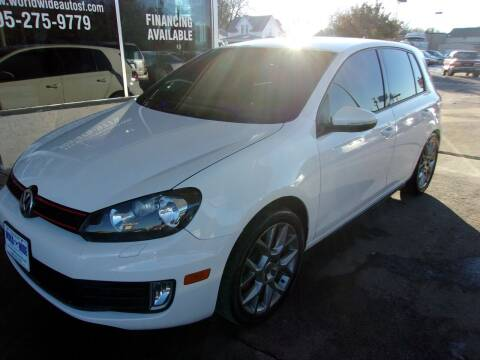 2013 Volkswagen GTI for sale at World Wide Automotive in Sioux Falls SD