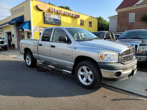 2007 Dodge Ram Pickup 1500 for sale at Bel Air Auto Sales in Milford CT