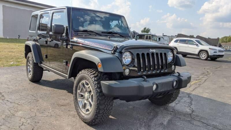 2015 Jeep Wrangler Unlimited for sale at Newport Auto Group Boardman in Boardman OH