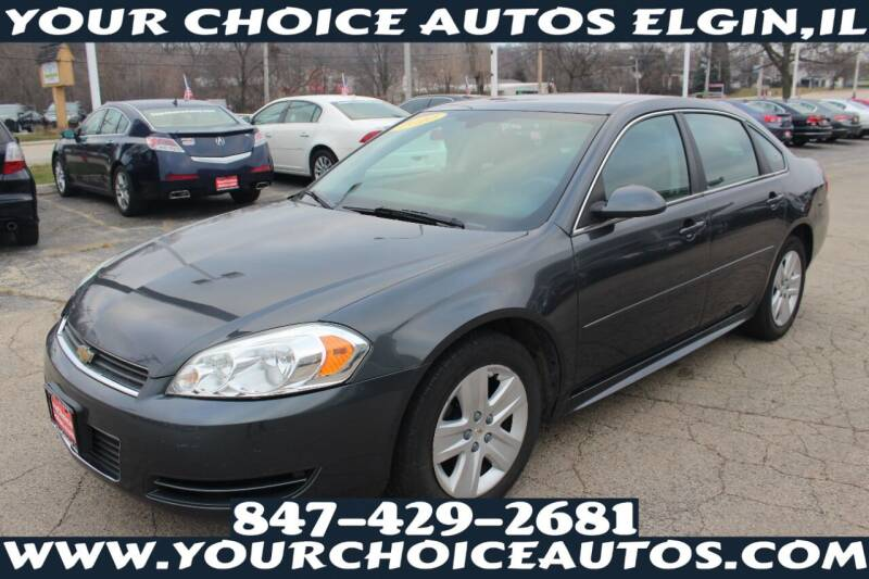 2010 Chevrolet Impala for sale at Your Choice Autos - Elgin in Elgin IL