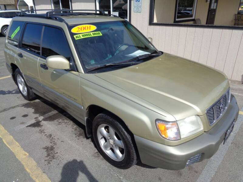 2001 Subaru Forester for sale at BBL Auto Sales in Yakima WA
