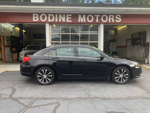 2013 Chrysler 200 for sale at BODINE MOTORS in Waverly NY