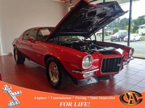 1972 Chevrolet Camaro for sale at VA Cars Inc in Richmond VA