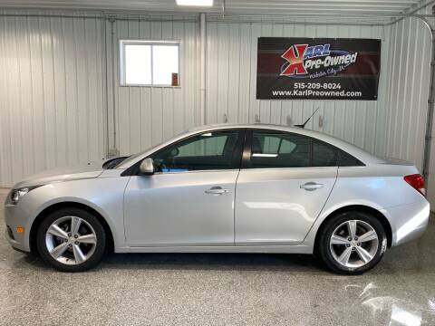 2014 Chevrolet Cruze for sale at Karl Pre-Owned - Webster City in Webster City IA