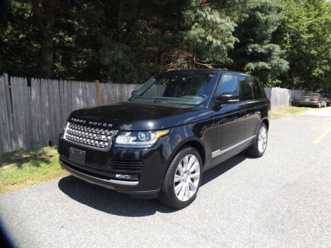 2015 Land Rover Range Rover for sale at Wayland Automotive in Wayland MA