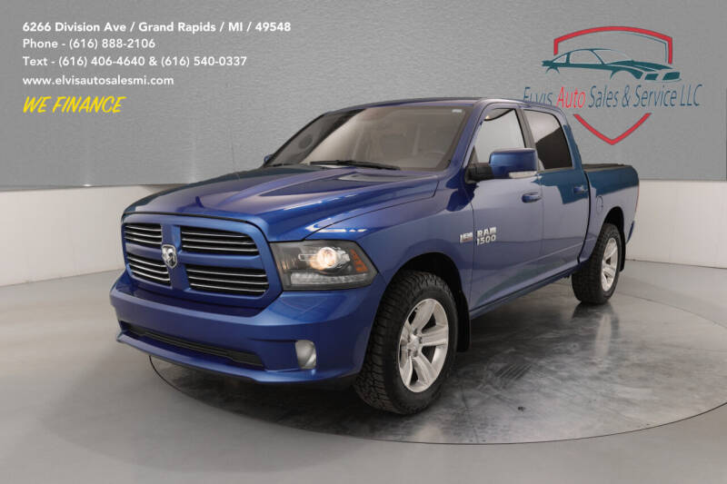 2016 RAM Ram Pickup 1500 for sale at Elvis Auto Sales LLC in Grand Rapids MI