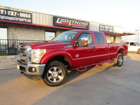 2015 Ford F-350 Super Duty for sale at Lightning Motorsports in Grand Prairie TX