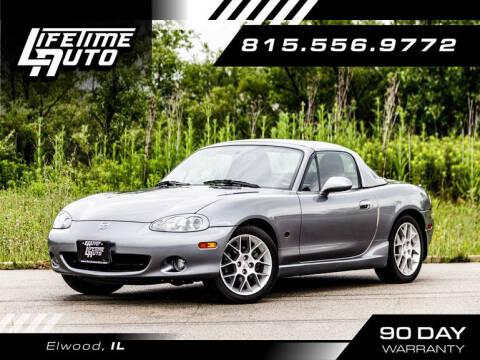 2002 Mazda MX-5 Miata for sale at Lifetime Auto in Elwood IL