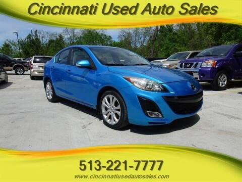2010 Mazda MAZDA3 for sale at Cincinnati Used Auto Sales in Cincinnati OH