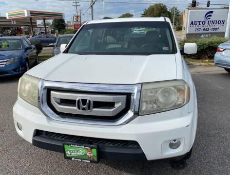 2009 Honda Pilot for sale at Auto Union LLC in Virginia Beach VA