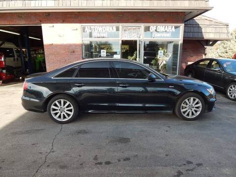 2013 Audi A6 for sale at AUTOWORKS OF OMAHA INC in Omaha NE