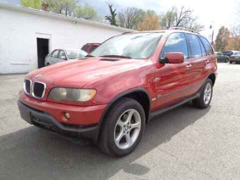 2002 BMW X5 for sale at Purcellville Motors in Purcellville VA