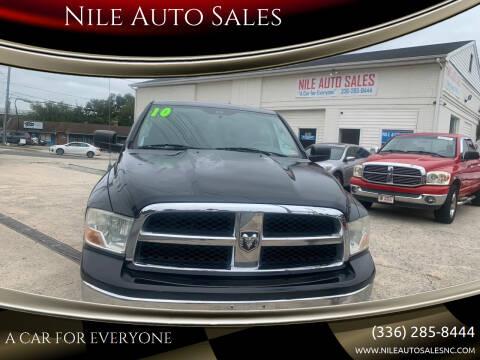2010 Dodge Ram Pickup 1500 for sale at Nile Auto Sales in Greensboro NC
