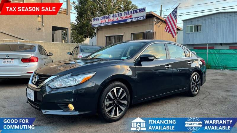 2018 Nissan Altima for sale at San Diego Auto Traders in San Diego CA