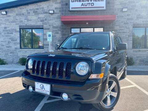 2016 Jeep Patriot for sale at GREENVILLE AUTO in Greenville WI