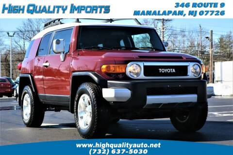 2008 Toyota FJ Cruiser for sale at High Quality Imports in Manalapan NJ