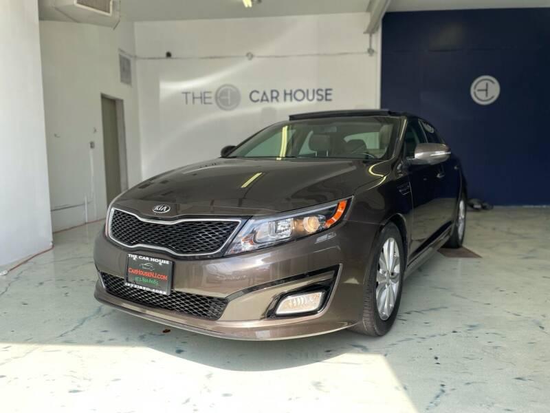 2015 Kia Optima for sale at The Car House of Garfield in Garfield NJ