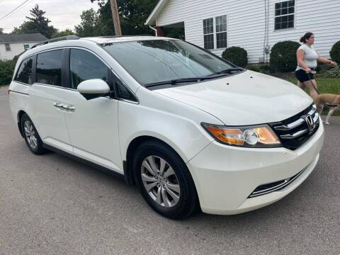 2014 Honda Odyssey for sale at Via Roma Auto Sales in Columbus OH