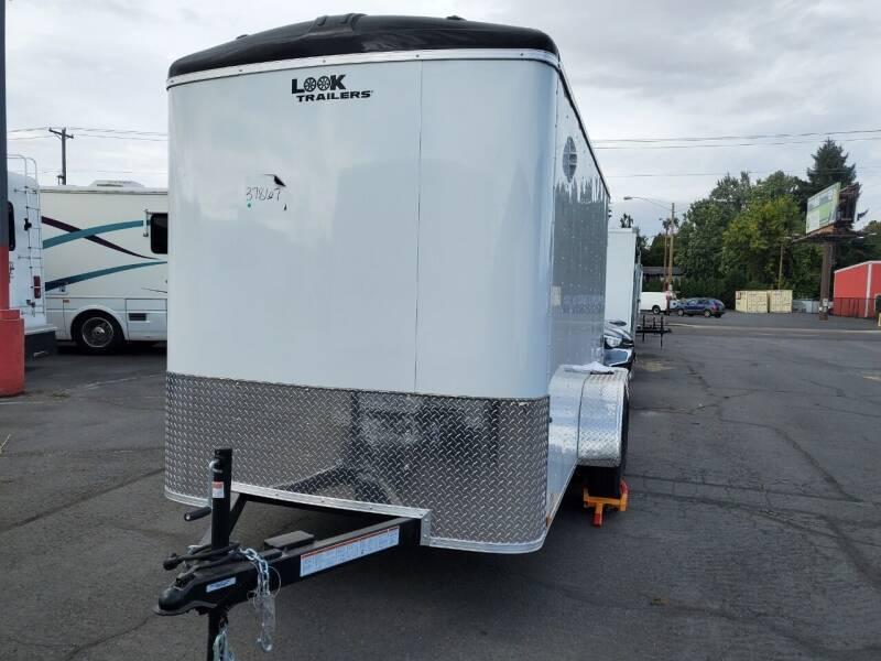 2022 Look Cargo Trailer LSBA6.0X12TE2RD for sale at Siamak's Car Company llc in Salem OR