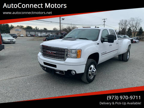 2013 GMC Sierra 3500HD for sale at AutoConnect Motors in Kenvil NJ