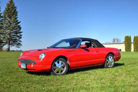 2002 Ford Thunderbird for sale at Hooked On Classics in Watertown MN