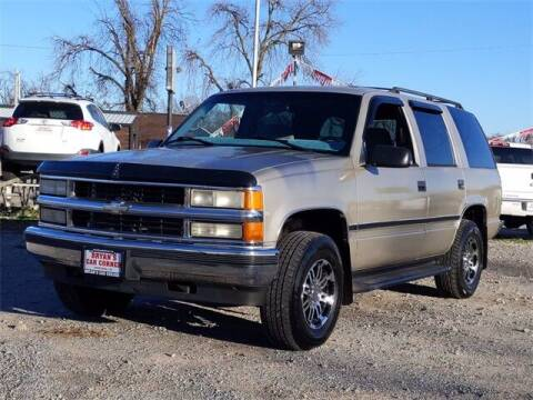 1999 Chevrolet Tahoe for sale at Bryans Car Corner in Chickasha OK