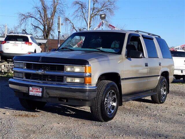 1999 Chevrolet Tahoe for sale at Bryans Car Corner in Chickasha OK