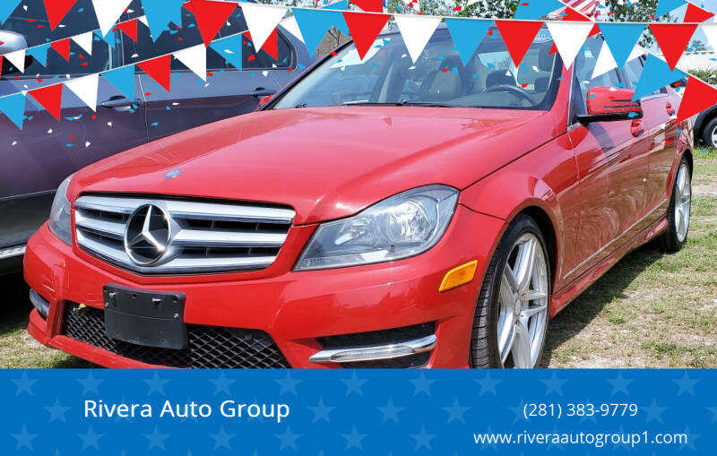 2013 Mercedes-Benz C-Class for sale at Rivera Auto Group in Spring TX