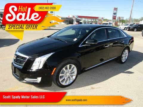 2017 Cadillac XTS for sale at Scott Spady Motor Sales LLC in Hastings NE