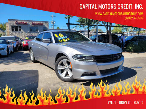 2016 Dodge Charger for sale at Capital Motors Credit, Inc. in Chicago IL
