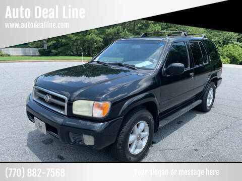 2000 Nissan Pathfinder for sale at Auto Deal Line in Alpharetta GA