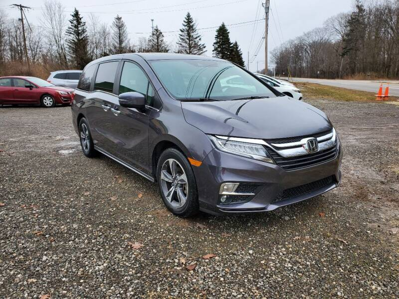 2018 Honda Odyssey for sale at US-Euro Auto in Burton OH