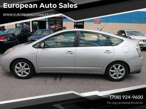 2007 Toyota Prius for sale at European Auto Sales in Bridgeview IL