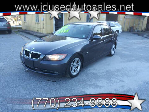 2008 BMW 3 Series for sale at J D USED AUTO SALES INC in Doraville GA