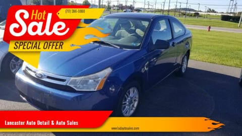 2008 Ford Focus for sale at Lancaster Auto Detail & Auto Sales in Lancaster PA