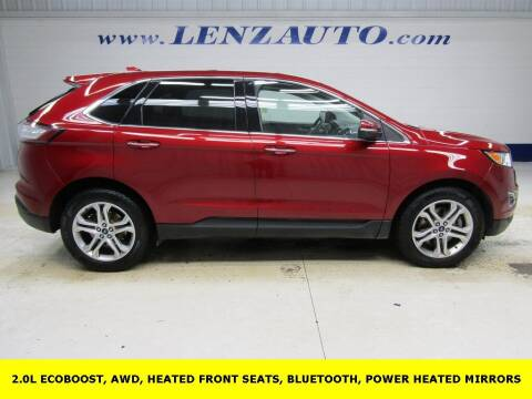 2017 Ford Edge for sale at LENZ TRUCK CENTER in Fond Du Lac WI