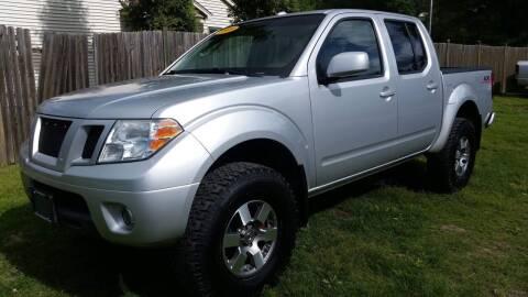 2009 Nissan Frontier for sale at ALL Motor Cars LTD in Tillson NY