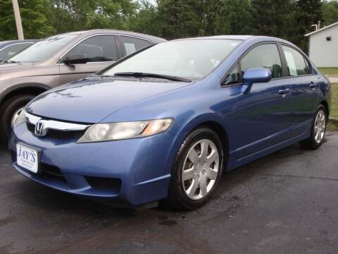 2009 Honda Civic for sale at Jay's Auto Sales Inc in Wadsworth OH