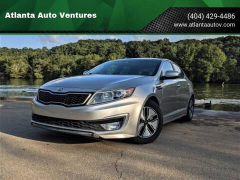 2013 Kia Optima Hybrid for sale at Atlanta Auto Ventures in Roswell GA