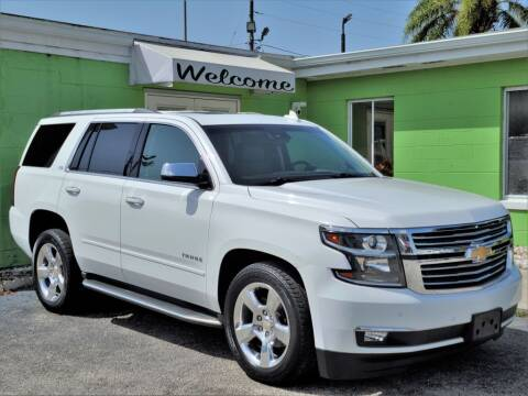 2016 Chevrolet Tahoe for sale at Caesars Auto Sales in Longwood FL