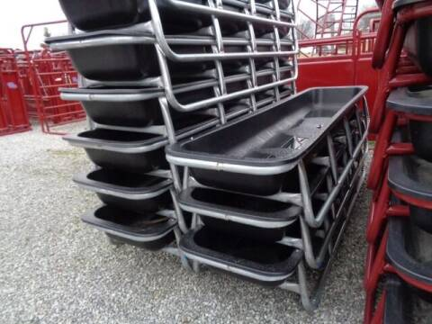 2020 Galv 10' Feed Bunk for sale at Rod's Auto Farm & Ranch in Houston MO