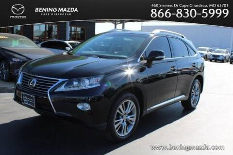 2014 Lexus RX 350 for sale at Bening Mazda in Cape Girardeau MO